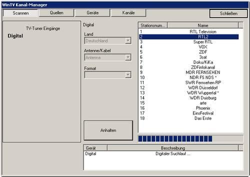 Wenn das nicht wie ein Windows 3.x-Programm aussieht. Au Backe, Hauppauge!