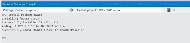 InstallRDotNetNugetPackage