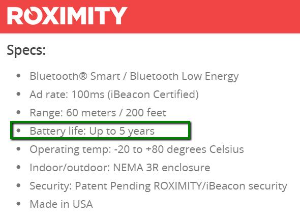 roximity_battery_life