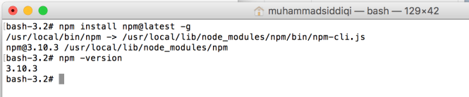 npm latest