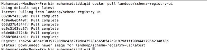 Schema Registry UI Docker Pull