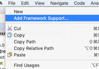Scala Framework support in IntelliJ