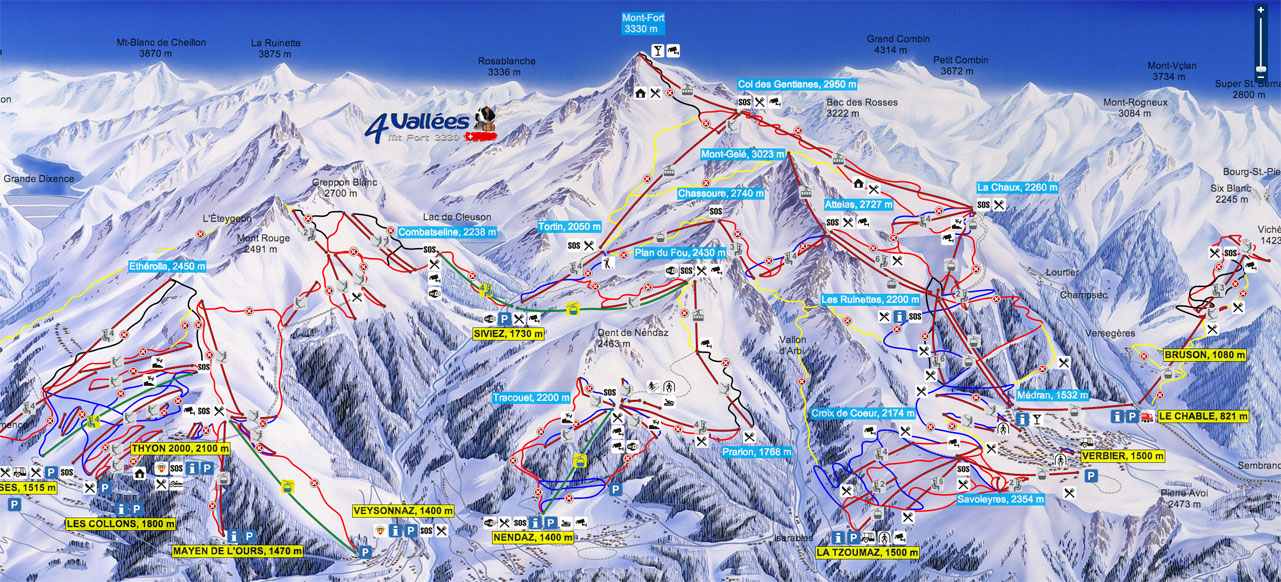 map ski resorts switzerland
