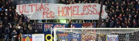 """Ultras for Homeless"" in Bologna"