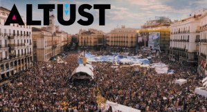 Öfkeliler' hareketi, Madrid. Şehrin akışının durdurulması