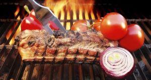 Grill Barbecue Ribs Flames Brisket Charcoal, XXXL