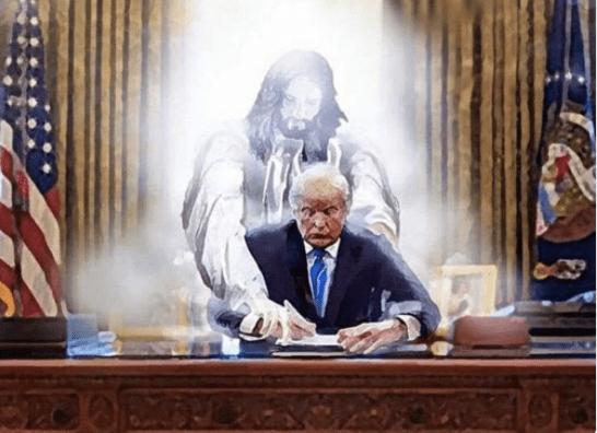 twitter trump jesus lord