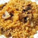 Bulgar wheat pilaf