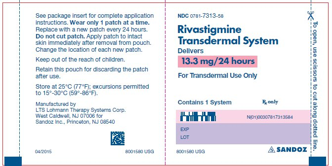 Nuevos Parches de Rivastigmina contra el Alzheimer