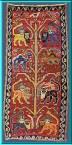 Tree of Life Iranian Rug Lion of God Imam Ali ibn Abi Talib Qashqa'i, dated 1327 A.H.-1909 - Amaana.org