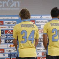 Calcio, Serie A: Macron ha colorato di un giallo solare la terza (o seconda) maglia per il Napoli