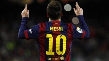 Maglie personalizzate: Messi top del 2015