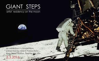 Created for the exhibition Giant Steps: Artist Residency on the Moon