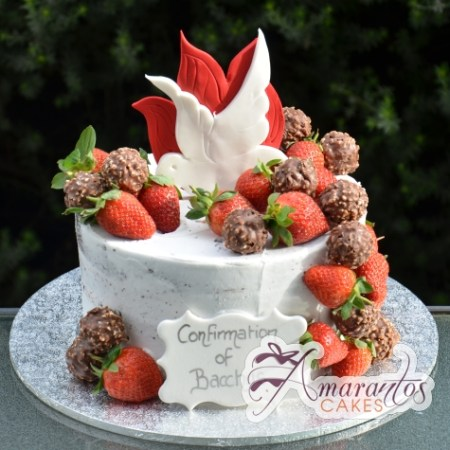 Communion Cake - Amarantos Custom Made Cakes Melbourne