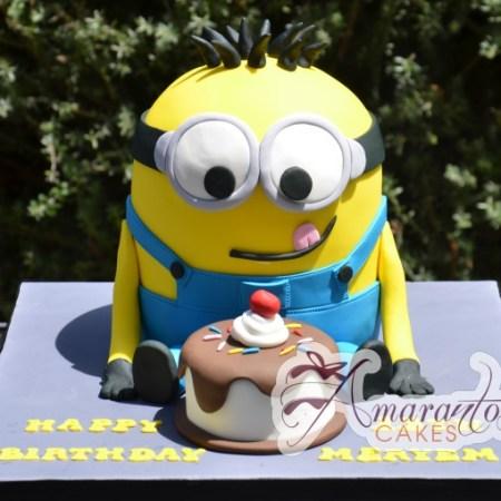 3D Minion - NC387 - Birthday Cakes Melbourne