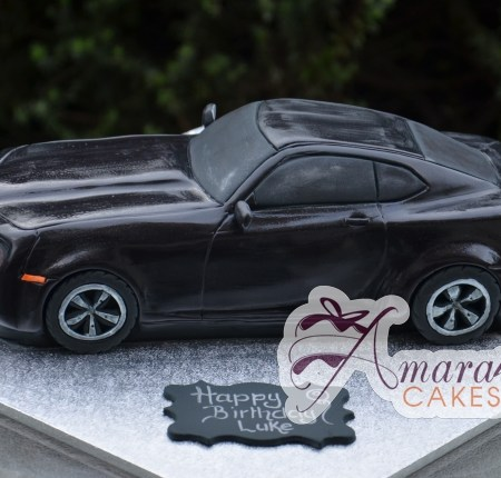 3D Camaro Car Cake - Amarantos Custom Made Cakes Melbourne