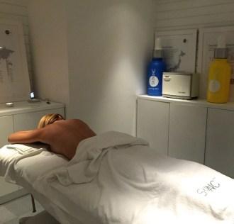 Blissbooker amaras la moda Skin inc hotel Me Madrid beauty