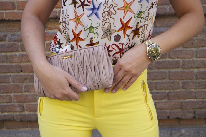 brand ambassador Henry London ambajadora Paula Fraile amaras la moda versace top.6