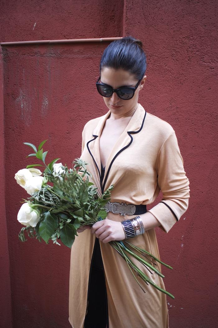 embajadora The Rubz pulseras bata Zara Paula Fraile amaras la moda flores5
