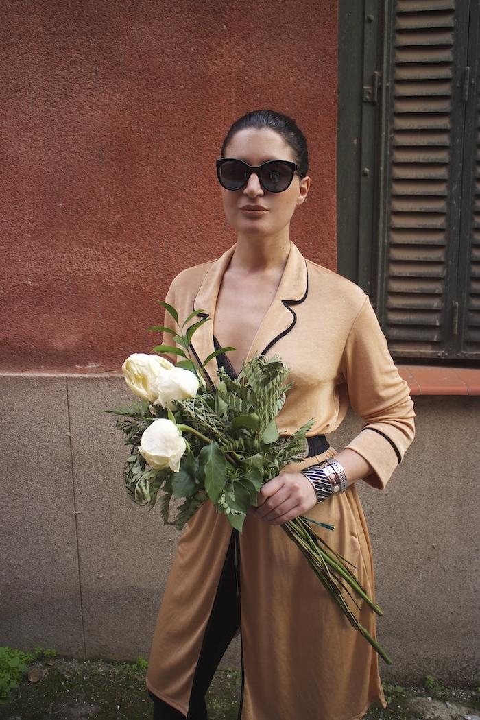 embajadora The Rubz pulseras bata Zara Paula Fraile amaras la moda flores8