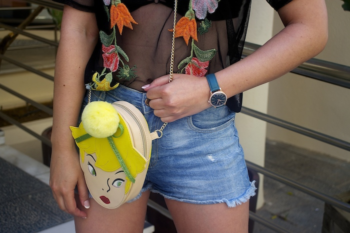 danielle nicole bag disney tinker bell Disney's Peter Pan henry london watch paula fraile amaras la moda2