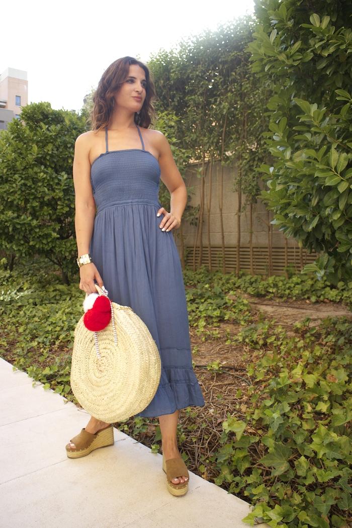 vestido lightinthebox cesta redonda amaras la moda paula fraile