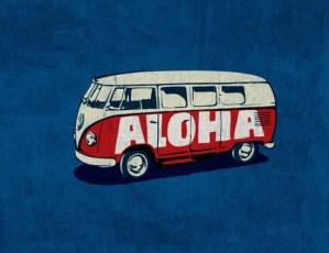 aloha - VW Van