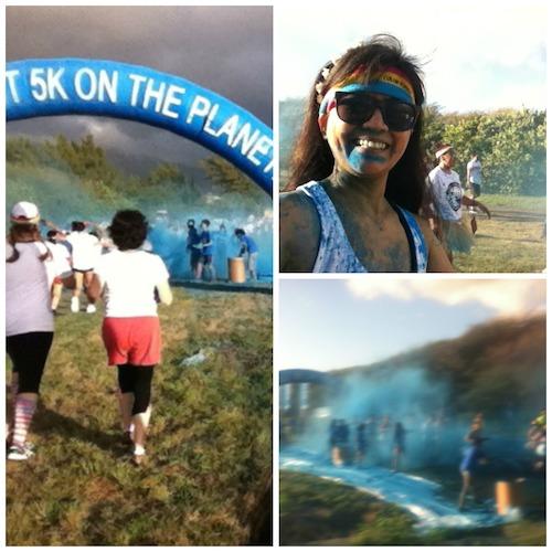 Color Run Maui 2014 - Blue