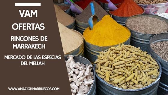 Mercado de las Especias El Mellah Viajes Amazigh Marruecos