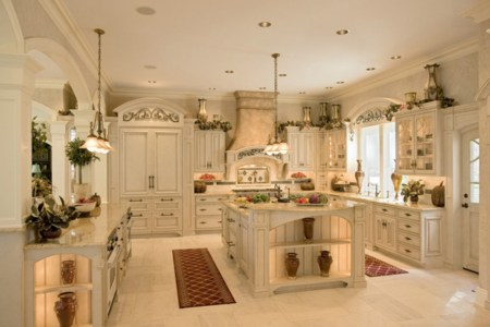outstanding french white kitchen design