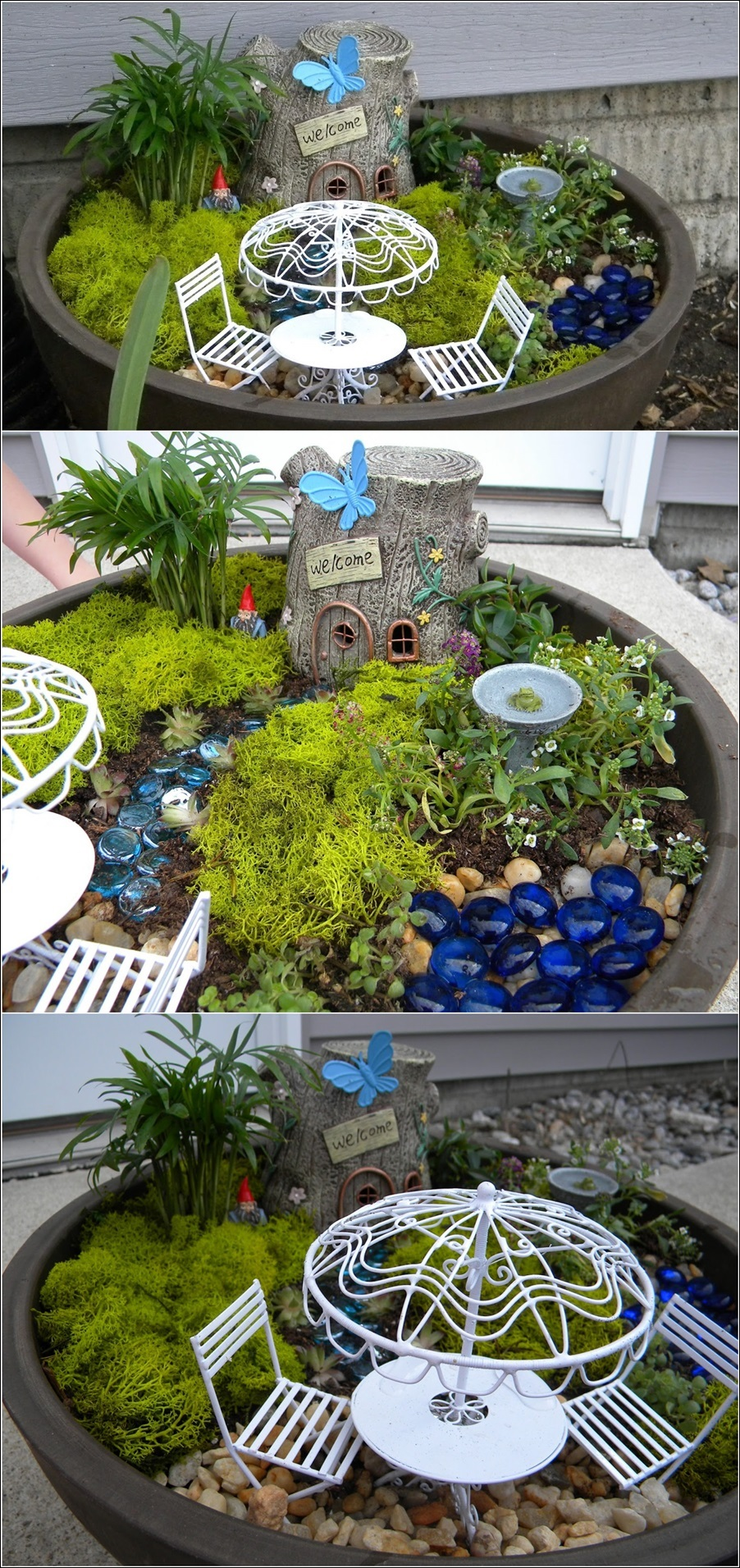 Dining Enchanted Miniature Fairy Gardens Fantasy Goes Miniature Fairy Gardens Diy Miniature Fairy Gardens Ideas garden Miniature Fairy Gardens