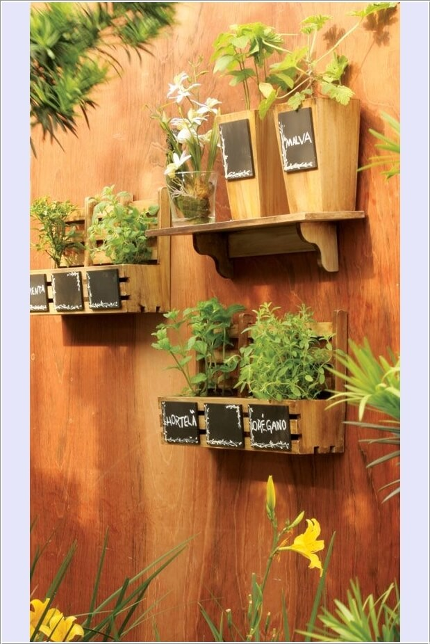 Materials to Use for a Vertical Garden 4