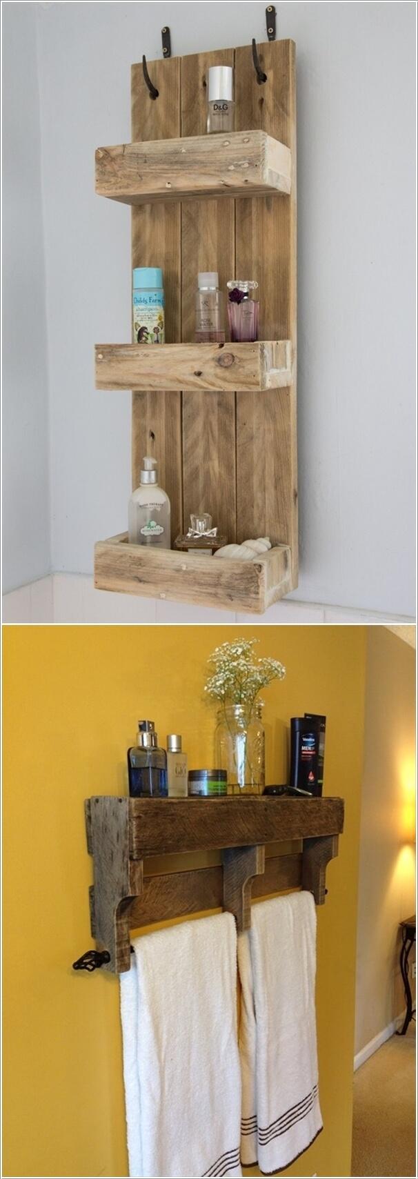 Fullsize Of Homemade Shelves For Bathroom