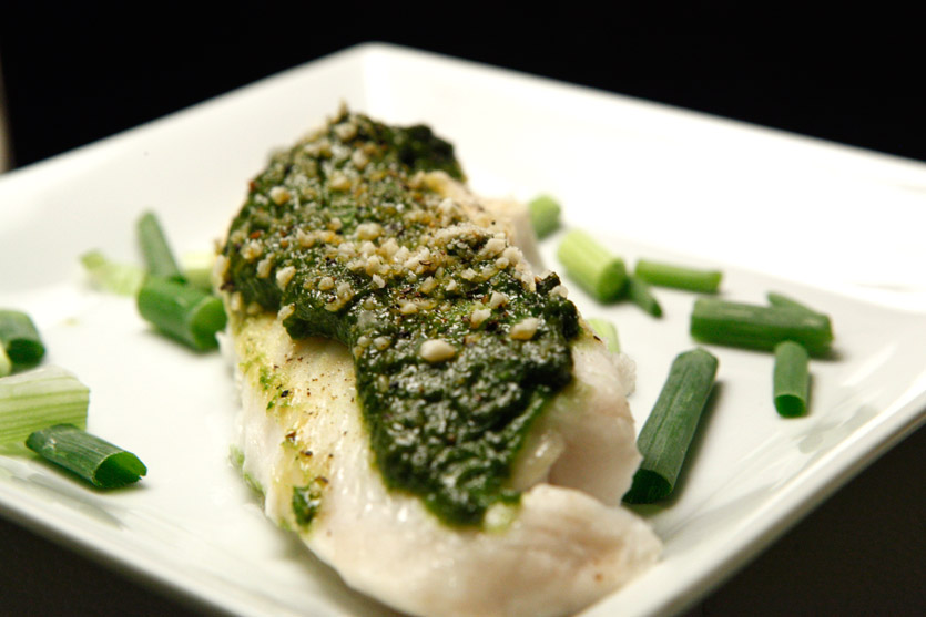 Pesto Tilapia By