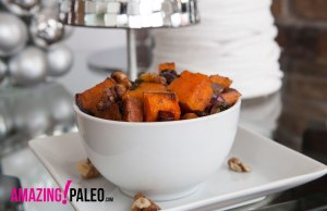 Holiday Paleo Roasted Sweet Potatoes