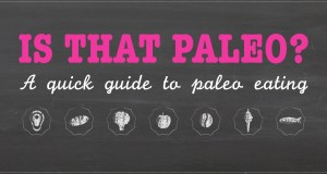 Amazing Paleo Diet Infographic