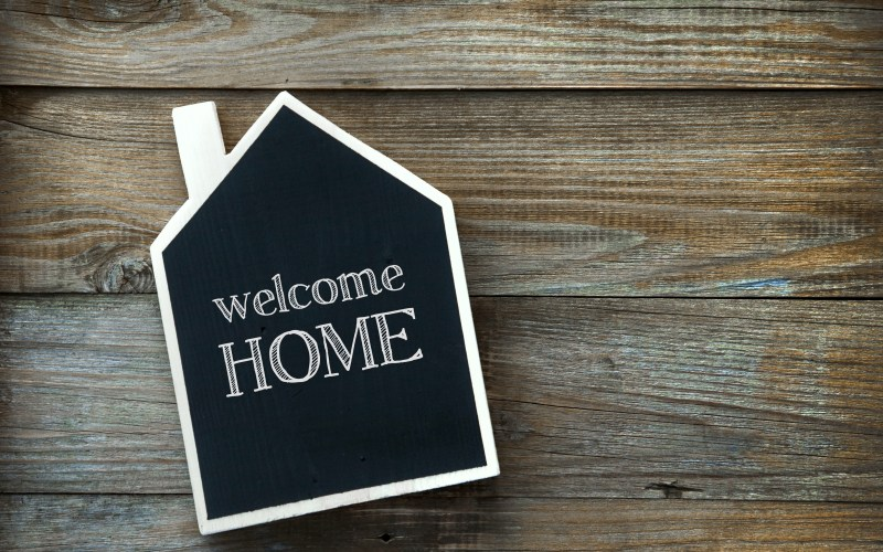 Welcome Home – My Parents are Here