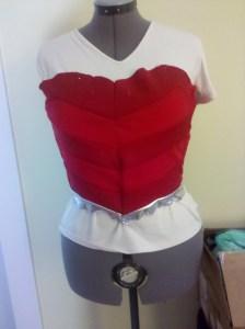 DCnU-wip (4) wonder woman costume