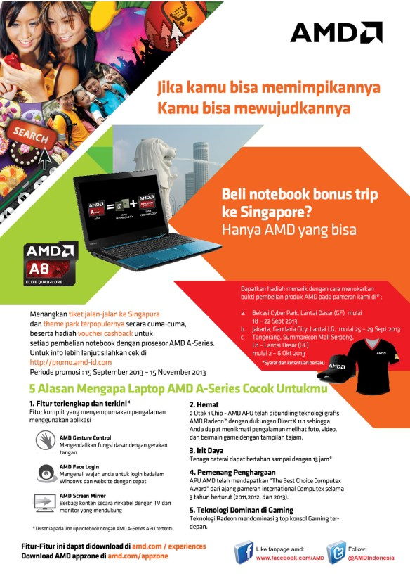 AMD Promo Trip ke Singapore