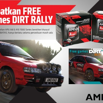 PROMO DIRT RALLY A10 & A8