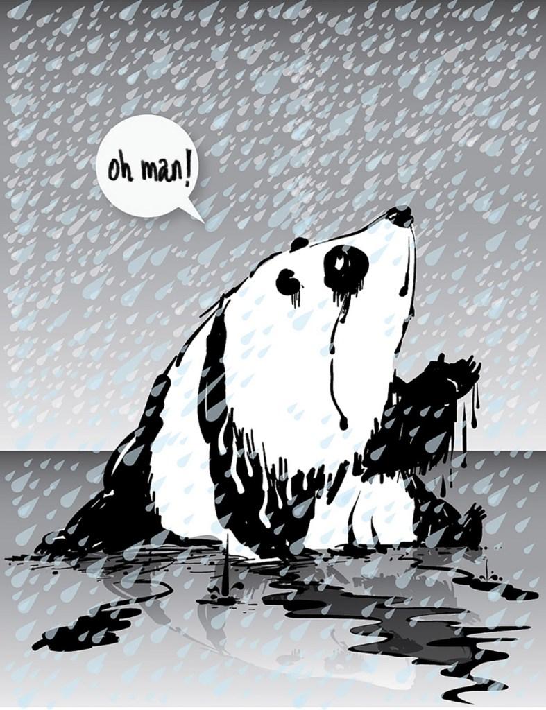 Fake panda