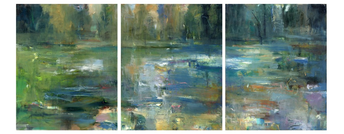 New Work: Spring Lake Triptych