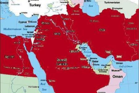 redrawing the middle east map 2000 2004 @ american digest