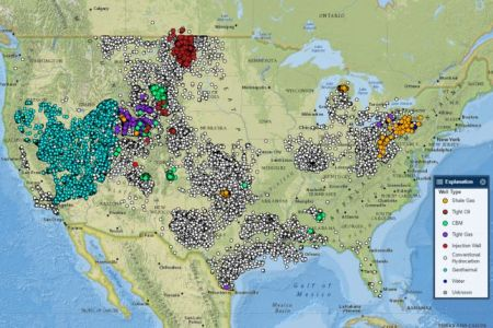 interactive map of produced waters in the united states