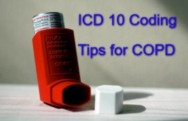 ICD 10 code for COPD guide for Medical coders