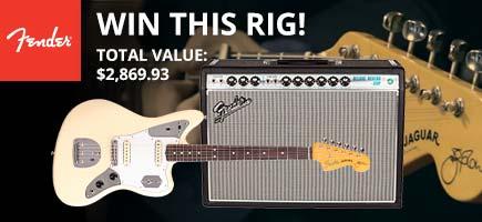 Fender Giveaway