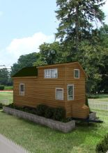 Portland Rear American Tiny House