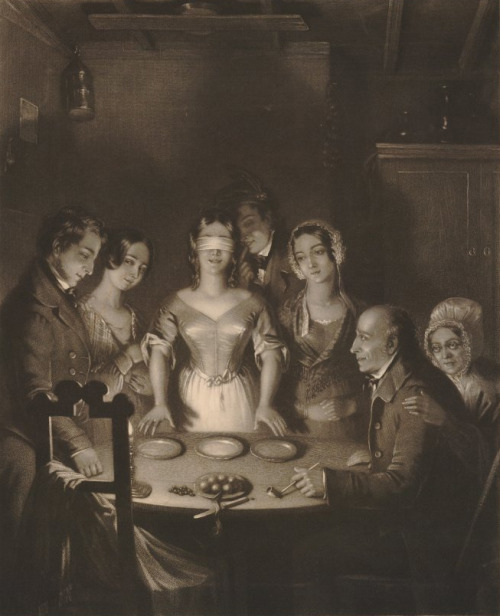 Halloween Divination 1830s