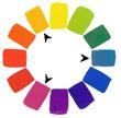 color wheel triade