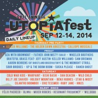 UTOPIA FEST 2014 ADDS TO LINEUP